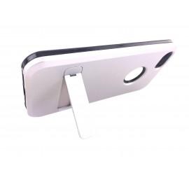 Coque métal support vidéo iPhone 5/5S/SE : Gris Clair