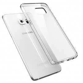 Coque silicone Samsung Galaxy S6 Edge Transparent