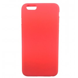 Coque silicone iPhone 6 Plus Rouge