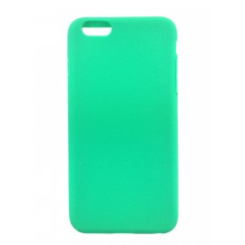 Coque silicone iPhone 6 Plus Vert