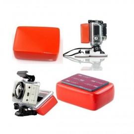 Flotteur avec pastille adhésive pour GoPro
