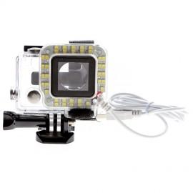 Cadre éclairage LED pour GoPro avec prise USB