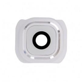 Lentille caméra arrière Samsung Galaxy S6 Blanc