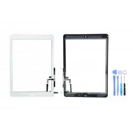Vitre tactile complète pour iPad Air Blanc