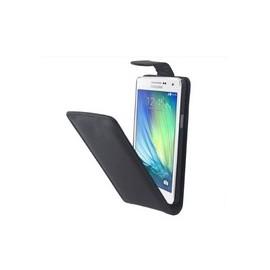 Etui cuir Samsung Galaxy A3 Noir