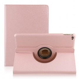 Etui cuir 360° iPad Air 2 Rose