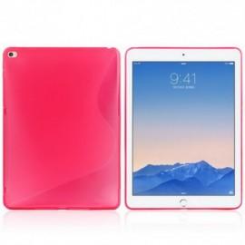 Coque silicone S-line iPad Air 2 Rose
