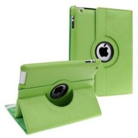 Etui cuir 360° iPad Mini 4 Vert