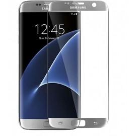 Film en verre trempé Samsung Galaxy S7 Edge Silver
