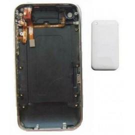 Coque arrière blanche + nappe jack iPhone 3GS