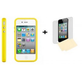 Bumper jaune iPhone 4/4S