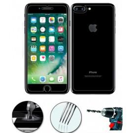 Pack avant + arrière films en verre trempé iPhone 7