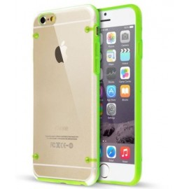 Coque bumper cristal iPhone 7 Plus vert