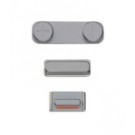 Pack boutons volume vibreur power iPhone 5S noir