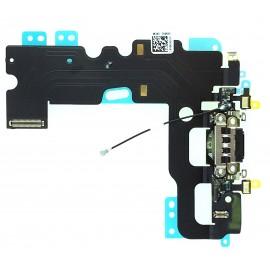 Connecteur de charge + Micro + Antenne GSM iPhone 7 noir