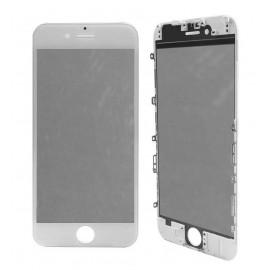 Vitre tactile avec châssis et film OCA iPhone 6S Blanc