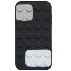 Etui silicone noir iPhone 4/4S