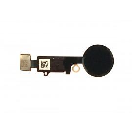 Nappe bouton home iPhone 7 Plus Noir