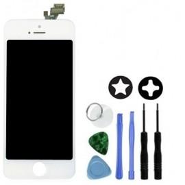 Ecran blanc pour iPhone 5 (LCD Origine)