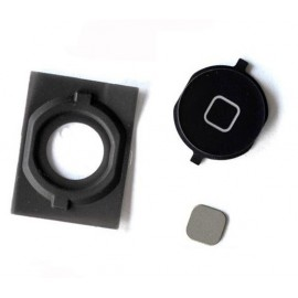 Bouton home avec spacer iPhone 4S noir