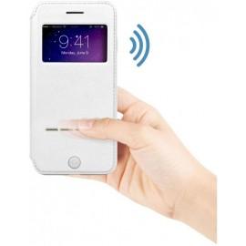 Etui G-Case iPhone 6 Plus / 6S Plus Sense Series Folio Case Blanc