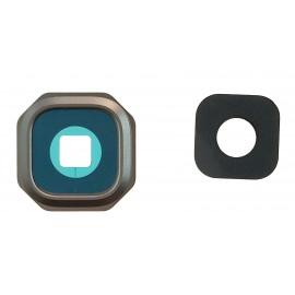 Lentille caméra arrière Samsung Galaxy A3/A5 2016 Noir
