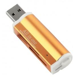 Clé USB 2.0 + lecteur de carte mémoire