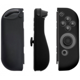 Coques silicone manettes Joy-Con Nintendo Switch noir
