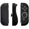 Coques silicone manettes Joy-Con Nintendo Switch noir