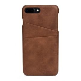Coque cuir marron iPhone 7 Plus / iPhone 8 Plus