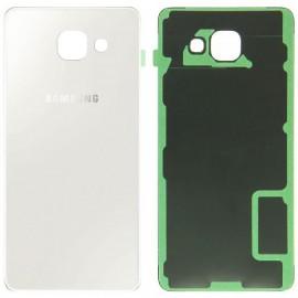 Vitre arrière Samsung Galaxy A7 2016 Blanc