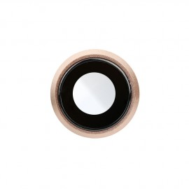 Lentille caméra arrière iPhone 8 Or + châssis