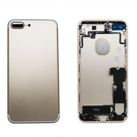 Coque arrière complète iPhone 7 Plus Or