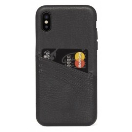 Coque porte carte noir iPhone X