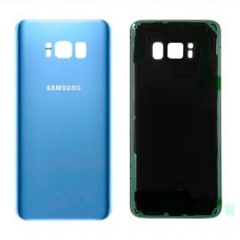 Vitre arrière Samsung Galaxy S8 Bleu corail