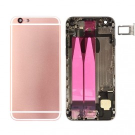 Coque arrière complète iPhone 6s Or Rose