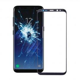 Vitre seule Samsung Galaxy S8 Plus Noir