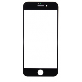 Vitre seule Noire iPhone 8 Plus