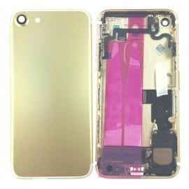 Coque arrière complète iPhone 7 Or