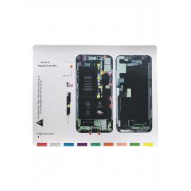 Patron vis magnétique iPhone X