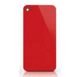Vitre arrière rouge iPhone 4