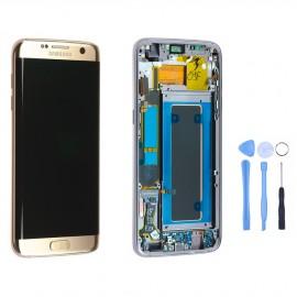 Ecran complet Samsung Galaxy S7 Edge Or