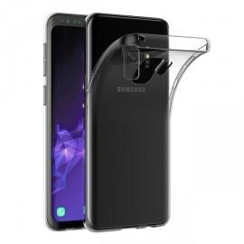 Coque silicone transparente Samsung Galaxy S9+