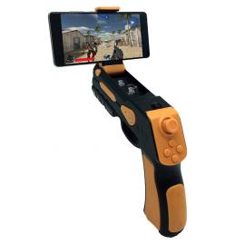 Jeu réalité augmentée pistolet smartphone