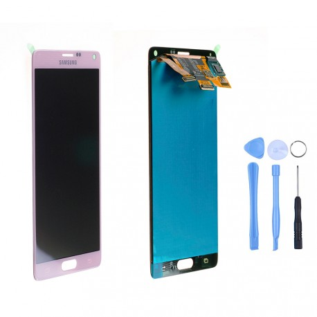 Ecran complet d'origine Samsung Galaxy Note 4 N910F Rose
