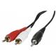 Câble audio jack 3.5mm / RCA