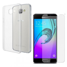 """Pack """"Cristal Protect"""" Galaxy A3 2016"""