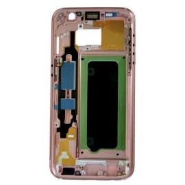 Châssis intermédiaire Samsung Galaxy S7 Rose