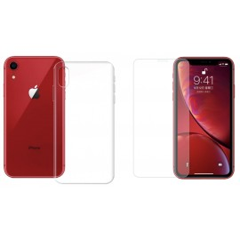 "Pack ""cristal protect"" iPhone XR"