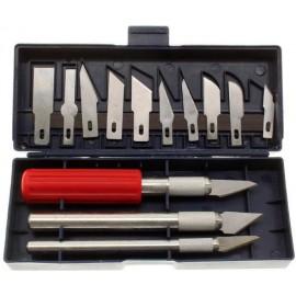 Kit cutter de précision 13 pièces